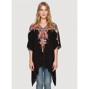 NWT ✨ JOHNNY WAS Cleopatra Embroidered Tunic